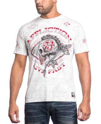 Affliction Men's AC Warpath Graphic-Print T-Shirt