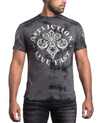 Affliction Men's Royale Rust Graphic-Print T-Shirt
