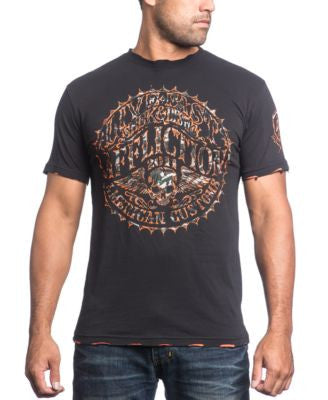 Affliction Men's Sacred Seal Graphic-Print T-Shirt