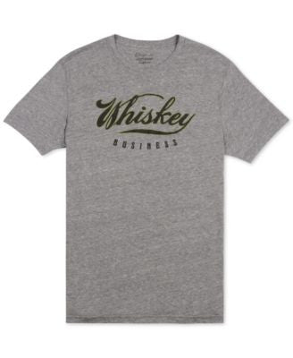 Lucky Brand Men's Whiskey Business Graphic-Print T-Shirt
