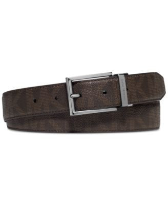 MICHAEL Michael Kors Men's Reversible Signature Belt