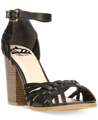 Fergalicious Ventura Two-Piece Braided Sandals