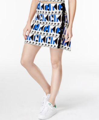 RACHEL Rachel Roy Pyramid Printed Jacquard Sweater Skirt