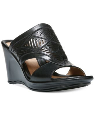 Naturalizer Oshea Open Toe Wedge Sandals