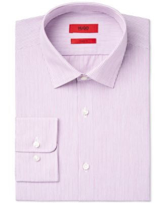 Hugo Boss Men's Slim-Fit Stripe Dress Shirt