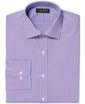 Lauren Ralph Lauren Slim-Fit Non-Iron Check Dress Shirt