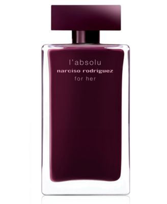 narciso rodriguez for her l'absolu eau de toilette fragrance collection
