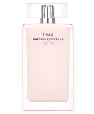 narciso rodriguez for her l'eau eau de toilette, 3.3 oz