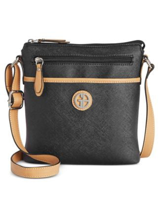 Giani Bernini Saffiano Crossbody, Only at Vogily