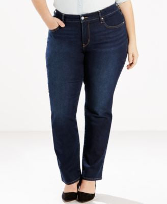 Levi's® Plus Size 314 Shaping Straight Leg Jeans