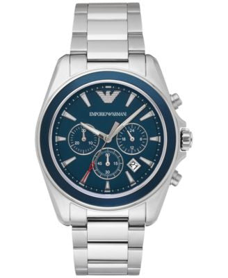 Emporio Armani Men's Chronograph Sigma Stainless Steel Bracelet Watch 44mm AR6091