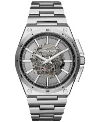 Michael Kors Men's Automatic Wilder Stainless Steel Bracelet Watch 44mm MK9021