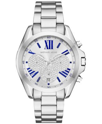 Michael Kors Women's Chronograph Bradshaw Stainless Steel Bracelet Watch 38mm MK6320