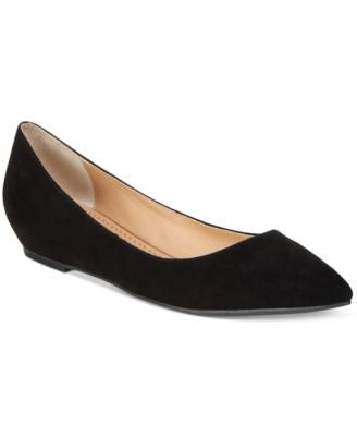 American Rag Emani Almond-Toe Flats, Only at Vogily