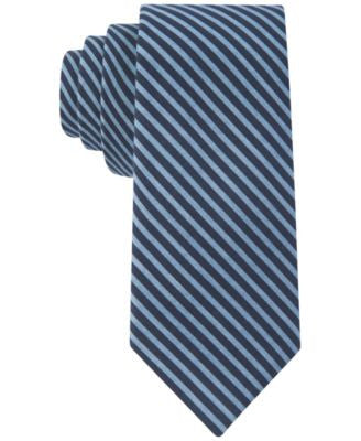 Tommy Hilfiger Men's Woven Nautical Market Stripe Slim Tie