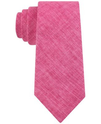 Tommy Hilfiger Men's Woven Solid Skinny Tie