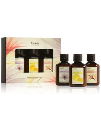 Ahava Mini Mineral Botanic Lotion Trio