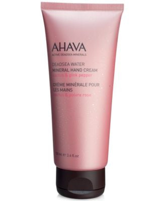 Ahava Deadsea Water Mineral Hand Cream Cactus & Pink Pepper