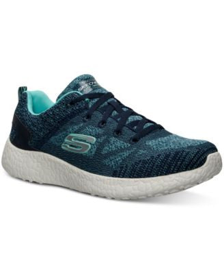 Skechers Women's Burst Soft Knit Running Sneakers from Finish Line