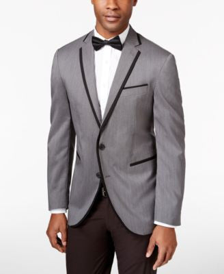 Kenneth Cole Reaction Men's Polka Dot Slim-Fit Dinner Jacket