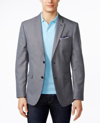 Tommy Hilfiger Men's Classic-Fit Multicolor Checked Sport Coat