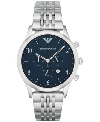 Emporio Armani Men's Chronograph Beta Stainless Steel Bracelet Watch 43mm AR1942