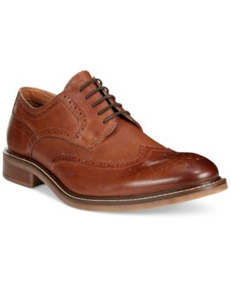 Alfani Men's Tyler Wing-Tip Derby Oxfords, Only at Vogily