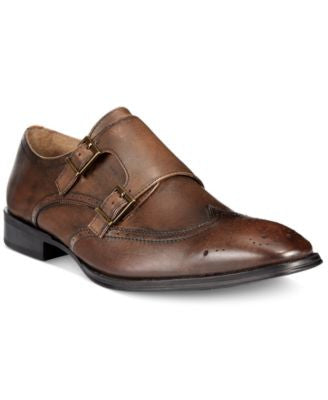 Alfani Men's Harrison Double Monk Strap Shoes, Only at Vogily