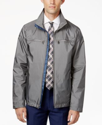 Ryan Seacrest Distinction Men's Full-Zip Stand-Collar Jacket, Only at Vogily