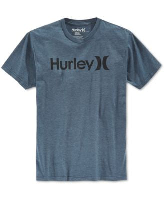 Hurley Men's One And Only Premium Tonal Graphic-Print Logo T-Shirt