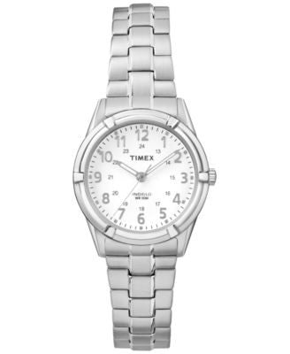 Timex Women's Easton Stainless Steel Expansion Bracelet Watch 40mm TW2P88900JT