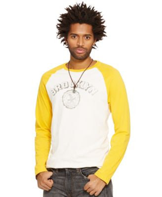 Denim & Supply Ralph Lauren Men's Brooklyn Baseball Tee