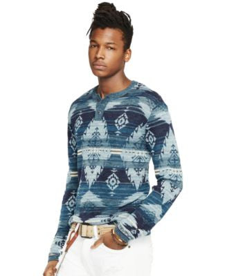 Denim & Supply Ralph Lauren Men's Southwestern-Print Henley