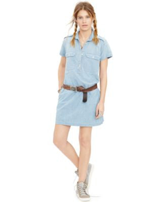 Denim & Supply Ralph Lauren Cotton Utility Dress
