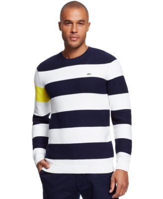 Lacoste Color Block Stripe Sweater