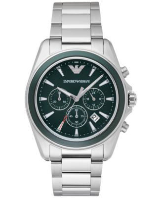 Emporio Armani Men's Chronograph Sigma Stainless Steel Bracelet Watch 44mm AR6090
