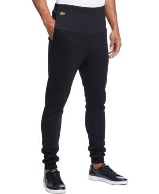 Lacoste Men's Fleece Mesh Jogger Pants