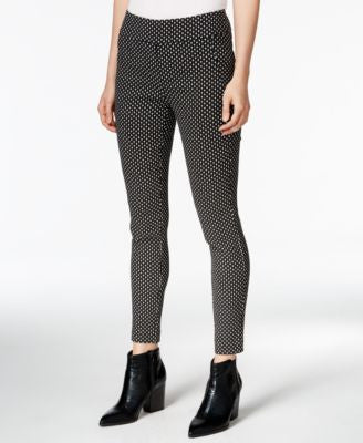 Bar III Diamond-Print Slim Trousers, Only at Vogily