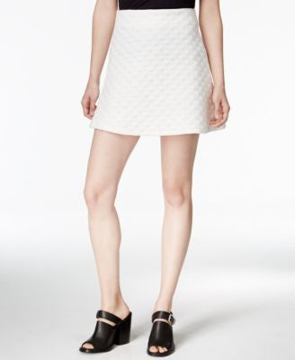 Bar III Textured Mini Skirt, Only at Vogily