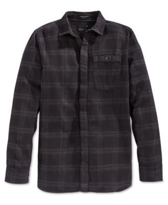 Tavik Watts Plaid Long Sleeve Button-Front Shirt
