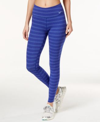 Nike Legend Dri-FIT Zigzag Dot-Print Leggings