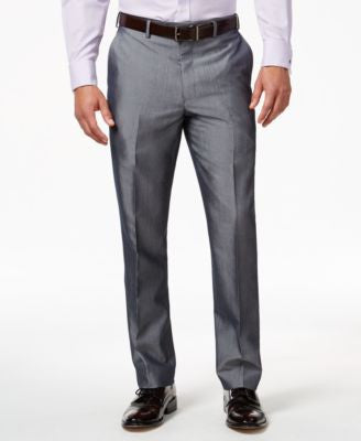 Sean John Grey Striped Classic-Fit Pants