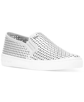MICHAEL Michael Kors Olivia Perforated Slip-On Sneakers