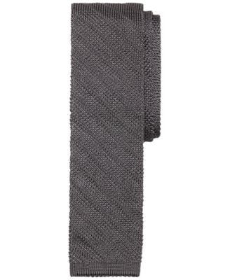 Brooks Brothers Knit Solid Stripe Tie