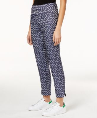 RACHEL Rachel Roy Printed Textured Pants