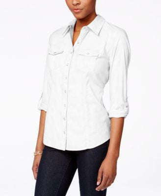 Style & Co. Utility Shirt, Only at Vogily