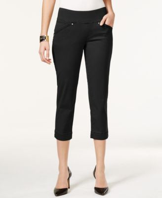 JAG Marion Pull-On Skinny Colored Cropped Jeans