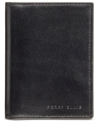 Perry Ellis Men's Leather Card Holder