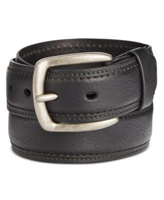 Levi's Men's Feather Edge Rivet Closure Belt