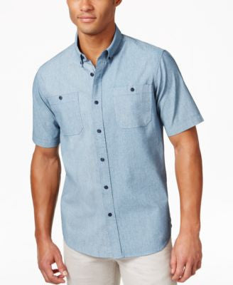 Ezekiel Men's Chambers Short-Sleeve Button Shirt